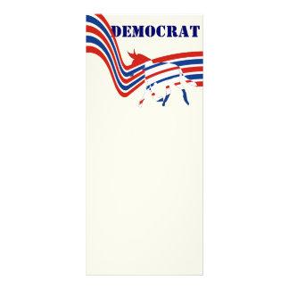 Democrat Rack Card