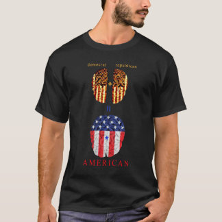 Democrat + Republican = American T-Shirt