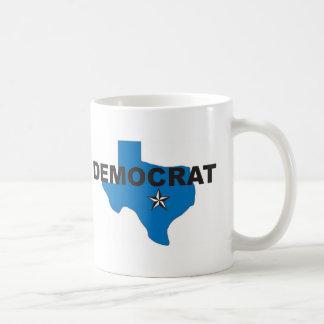Democrat Texas Classic White Coffee Mug