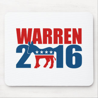 DEMOCRAT WARREN 2016 -.png Mousepad