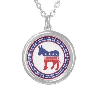 Democrat Winning Years Custom Jewelry