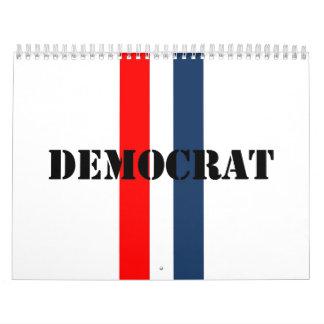 Demócrata Calendario De Pared