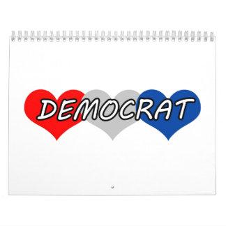 Demócrata Calendarios De Pared