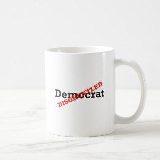 Demócrata/contrariedad Taza Clásica
