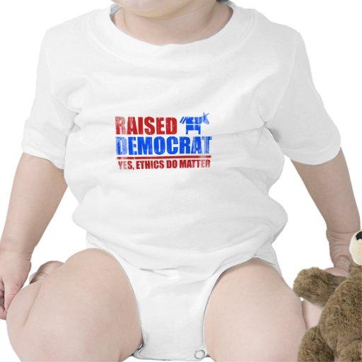 Demócrata criado. Los éticas importan sí Faded.png Traje De Bebé