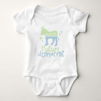 Demócrata futuro body para bebé