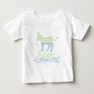 Demócrata futuro t-shirt