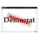 Demócrata: INDEPENDIENTE Portátil Skins
