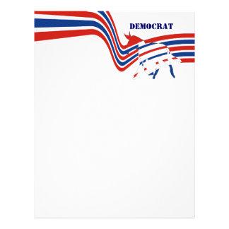 Demócrata Membrete