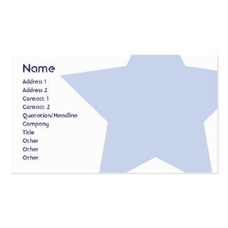 Demócrata - negocio tarjeta personal