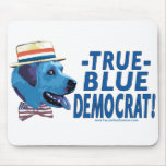 Demócrata rancio Mousepad Tapete De Ratones