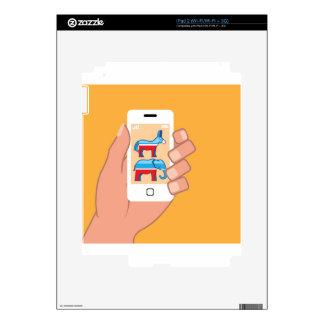 Demócrata republicano Smartphone Skins Para iPad 2