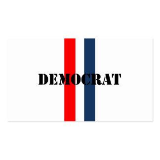 Demócrata Tarjeta De Visita