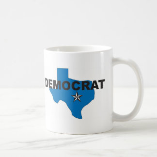 Demócrata Tejas Taza De Café