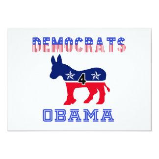 Demócratas 4 Obama Comunicados Personalizados