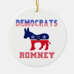 Demócratas 4 Romney Adornos