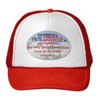 demócratas gorras de camionero
