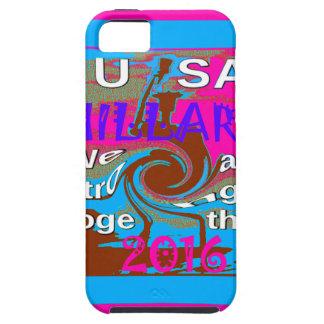 Demócratas Hillary para presidente We de los iPhone 5 Funda