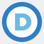 Demócratas Pegatinas