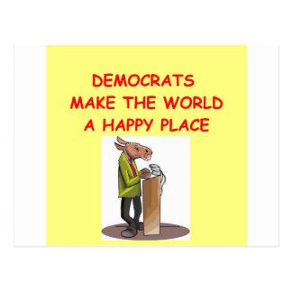 demócratas postal