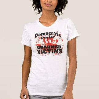 Demócratas prefieren a las señoras DESARMADAS T de Playera