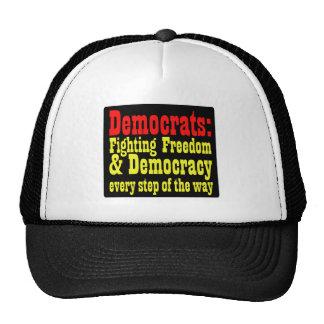 Demócratas que luchan la libertad gorra