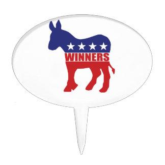 Demócratas son ganadores