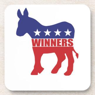 Demócratas son ganadores posavaso