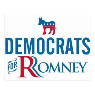 Demócratas Tarjeta Postal