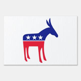 Demócratas viven aquí señal