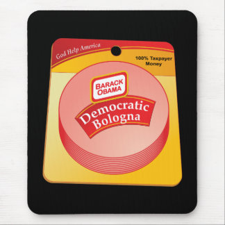 Democratic Bologna - Barack Obama Mouse Pad