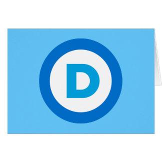 Democratic Card