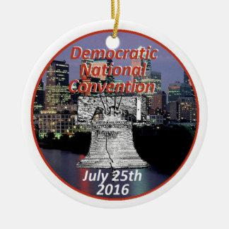 Democratic Convention Ceramic Ornament