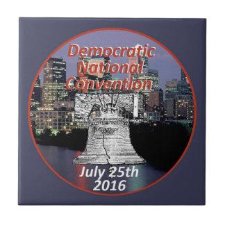 Democratic Convention Ceramic Tile