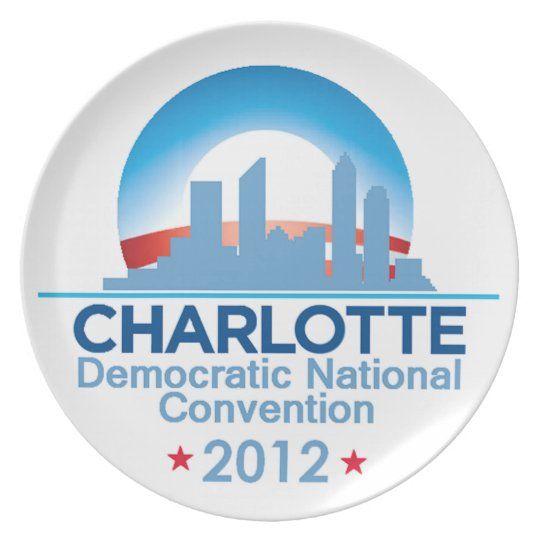 Democratic Convention Melamine Plate