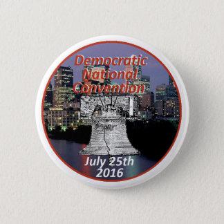 Democratic Convention Pinback Button