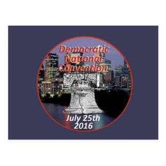 Democratic Convention Postcard