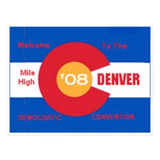 Democratic Convention Postcard Denver DNC