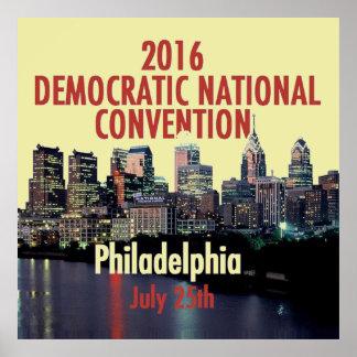Democratic Convention Poster