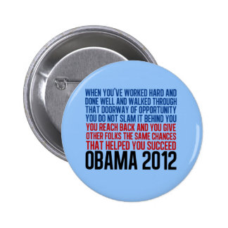 Democratic Convention Quote Pinback Buttons