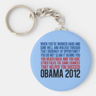Democratic Convention Quote Keychain