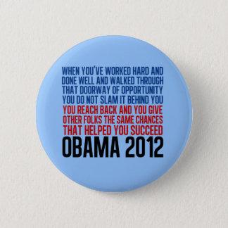 Democratic Convention Quote Pinback Button