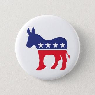 Democratic Donkey American Politics Button