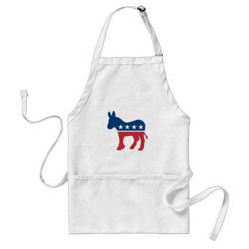 Democratic Donkey Aprons