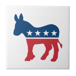 Democratic Donkey Ceramic Tile