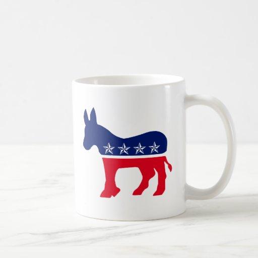 Democratic Donkey Coffee Mugs