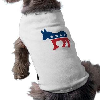 Democratic Donkey Doggie T Shirt