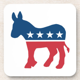 Democratic Donkey Drink Coaster