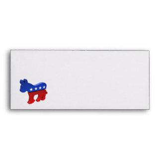 Democratic Donkey Envelope