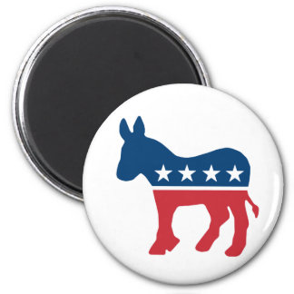 Democratic Donkey Fridge Magnet